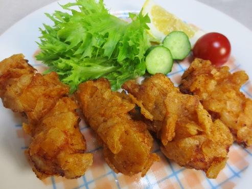 鶏胸肉クリスピーチキンB