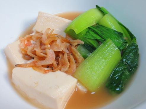 干しえびと豆腐の炊いたんB