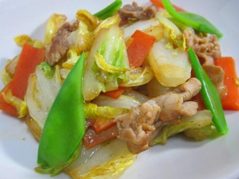 白菜炒めB