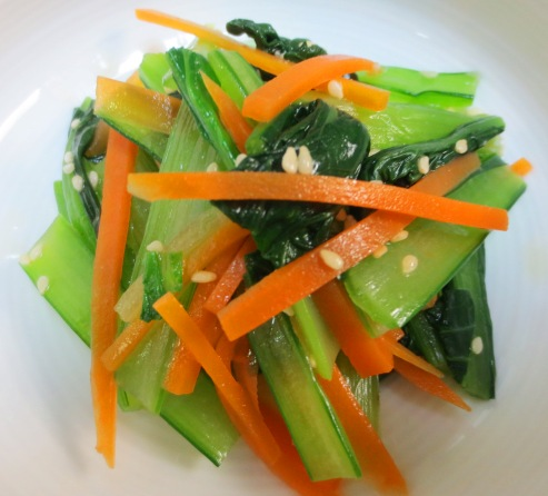 小松菜のナムル大