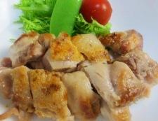 チキンのネギまみれ 調理→焼きあがり