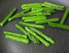 アスパラと筍の焼きびたし 調理③
