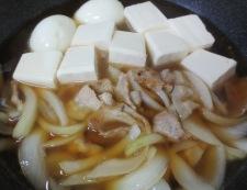 肉豆腐と煮卵 調理④