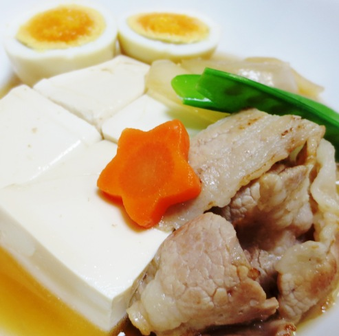 肉豆腐と煮卵 大