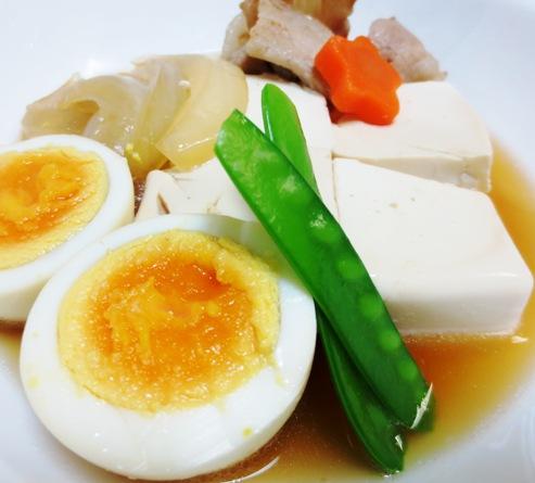 肉豆腐と煮卵 拡大