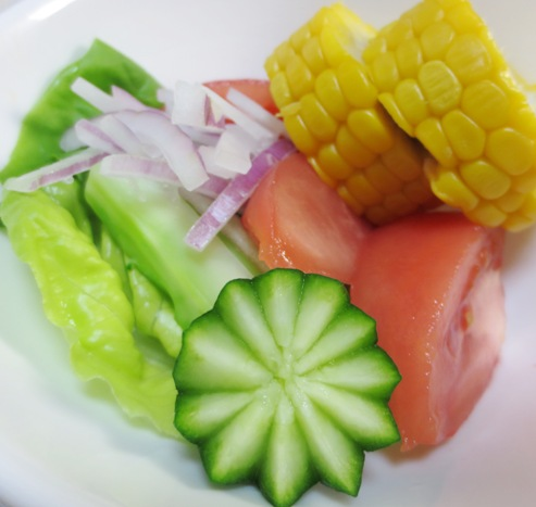 夏野菜サラダ 大