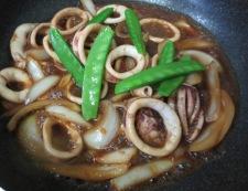 イカのピリ辛焼き 調理⑤