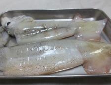 イカのピリ辛焼き 材料イカ