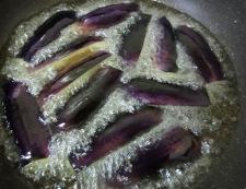 茄子の香味甘酢ソース 調理③