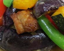 茄子の香味甘酢ソース 調理⑥