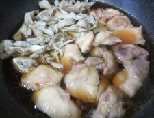 鶏肉の冶部煮 調理②