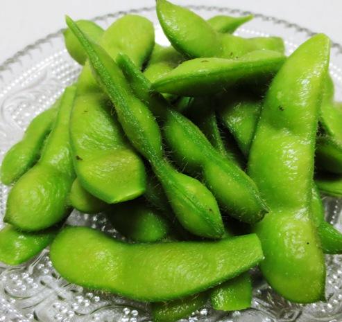 朝採り枝豆