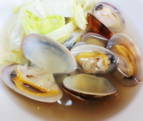 あさりとレタスの中華スープ B