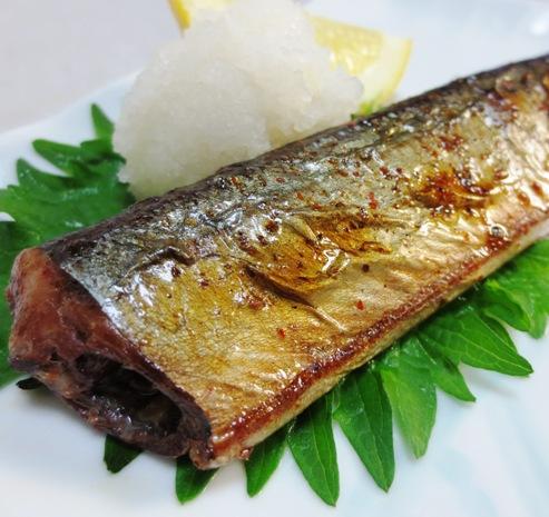 秋刀魚のピリ辛焼き B
