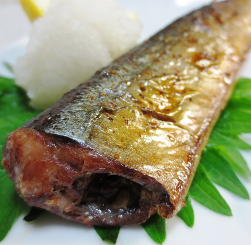 秋刀魚のピリ辛焼き 大