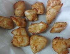 ささみのカルピス酢鶏 調理②