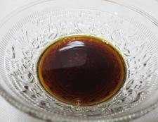 アジのねぎ醤油タレ 材料調味料
