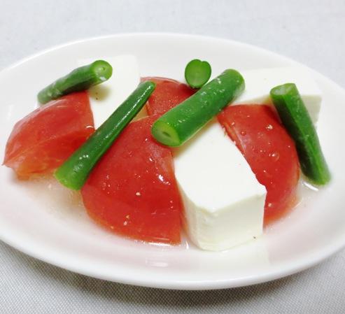 トマトと豆腐のサラダ大
