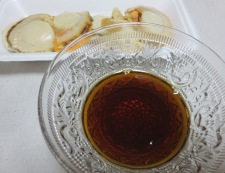 照り焼きホタテ材料と調味料