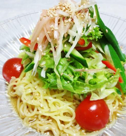 麺つゆ野菜冷麺 大