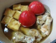 丸ごとトマトの炊いたん 調理④