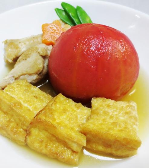 丸ごとトマトの炊いたん 大