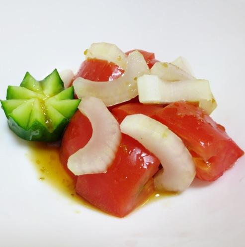 トマトとセロリのサラダ 大