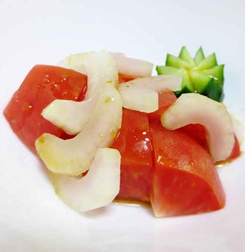 トマトとセロリのサラダ B