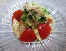トマトとささみのピリ辛サラダ 調理④
