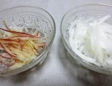 トマトとささみのピリ辛サラダ 材料野菜②