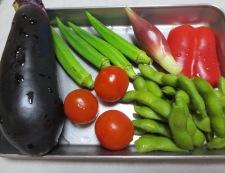 昆布茶のスープパスタ 材料野菜