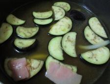 なすのカレースープ調理②