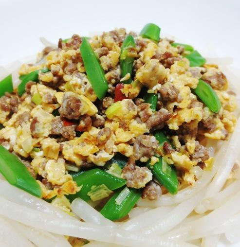 中華風ひき肉炒り卵 大