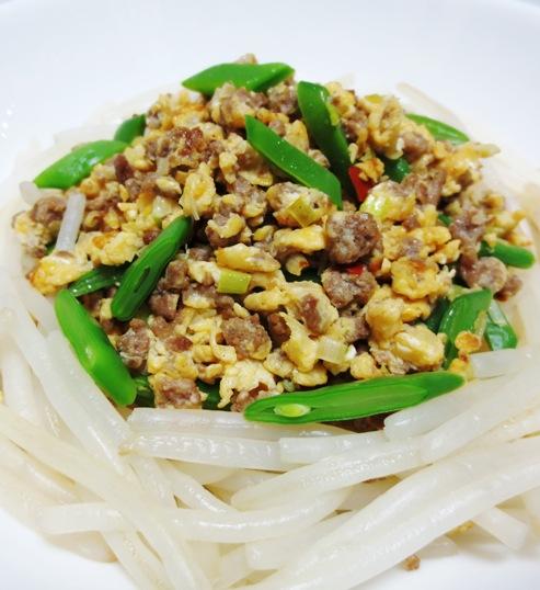 中華風ひき肉炒り卵 B