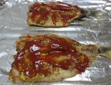 イワシのマスタードチーズ焼き 調理④