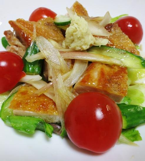 鶏もも肉と夏野菜の香味和え B