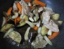 茄子とセロリ炒め 調理⑤