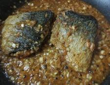 サバの香味焼き 調理③