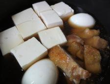 鶏豆腐 調理②