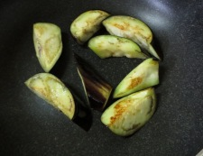 茄子とトマト南蛮漬け 調理①