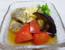 茄子とトマト南蛮漬け 調理④