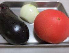 茄子とトマト南蛮漬け 材料茄子とトマト