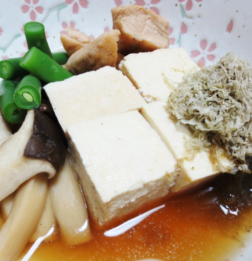 とろろ昆布豆腐 大