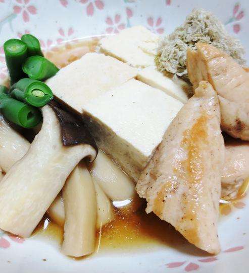 とろろ昆布豆腐 拡大