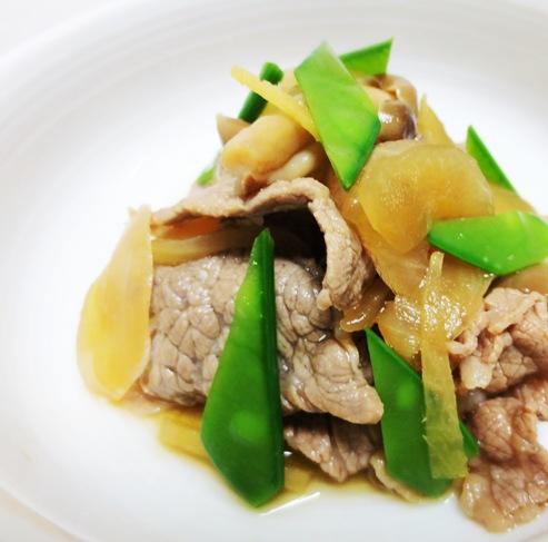 牛肉と玉ねぎの炊め煮 B