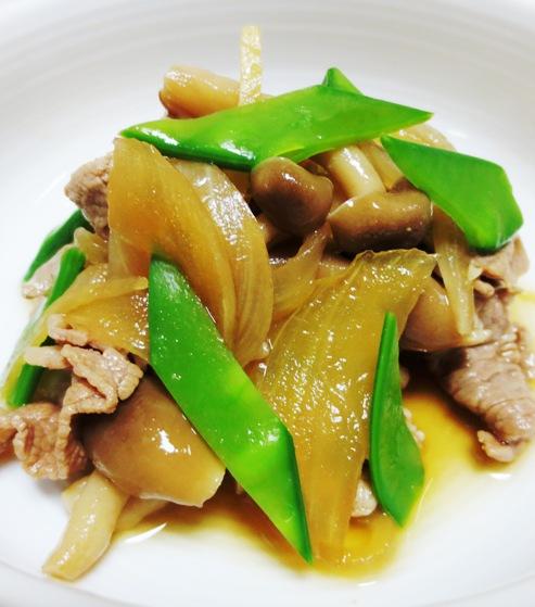 牛肉と玉ねぎの炊め煮 大