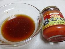 イカとゴーヤ ピリ辛和風炒め 調味料