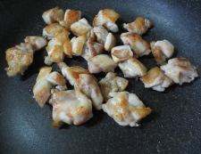 鶏キャベツの柚子ポン炒め 調理②