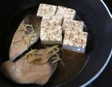 生ぶしとお焼の炊いたん 調理②