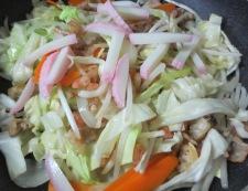 皿うどん 細麺 調理③